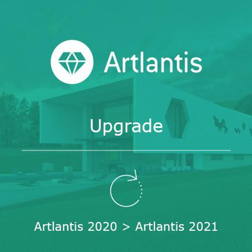 Artlantis 2021 Upgrade from 2020
