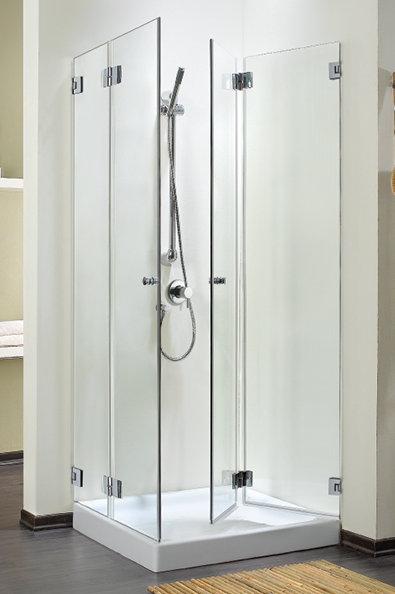 """מקלחון פינתי (דניאל ) 8 מ""""מ דלתות מתקפלות"""