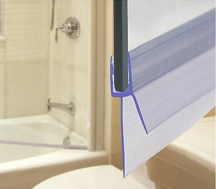"""זוג מגבים תחתונים למקלחון בזכוכית 6 מ""""מ"""
