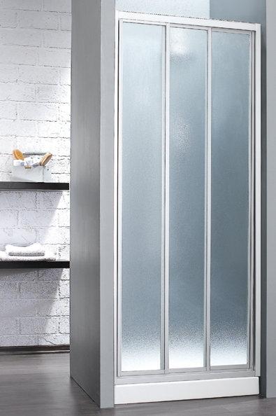 מקלחון חזית הזזה 3 חלקים