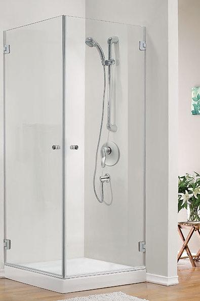 מקלחון פינתי(אגם) 2 דלתות