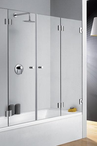 אמבטיון 2 דלתות מתקפלות- בייצור