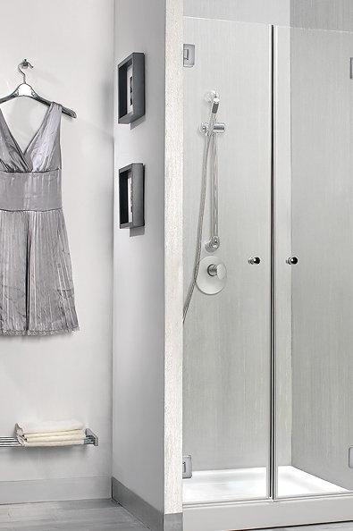 """מקלחון חזית 2 דלתות 8 מ""""מ"""