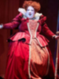 Susannah Van Den Berg as The Queen of Hearts