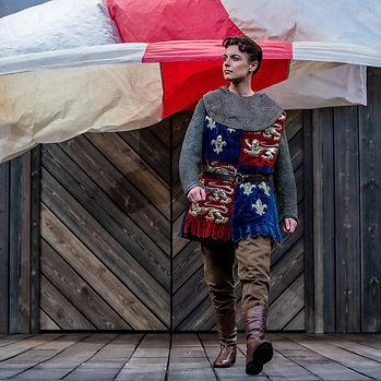 Maggie Bain as Henry V c.Charlotte Graham