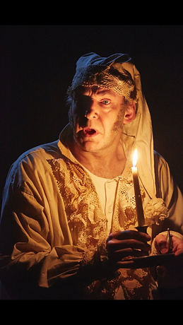 Martin Ball as Scrooge