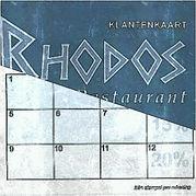 Restaurant Rhodos Zierikzee