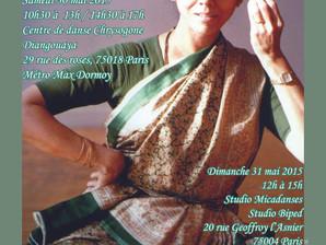 Stage exceptionnel avec Sucheta Chapekar