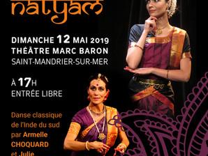 Récital Nritya Ganga à Saint-Mandrier le 12 mai 2019
