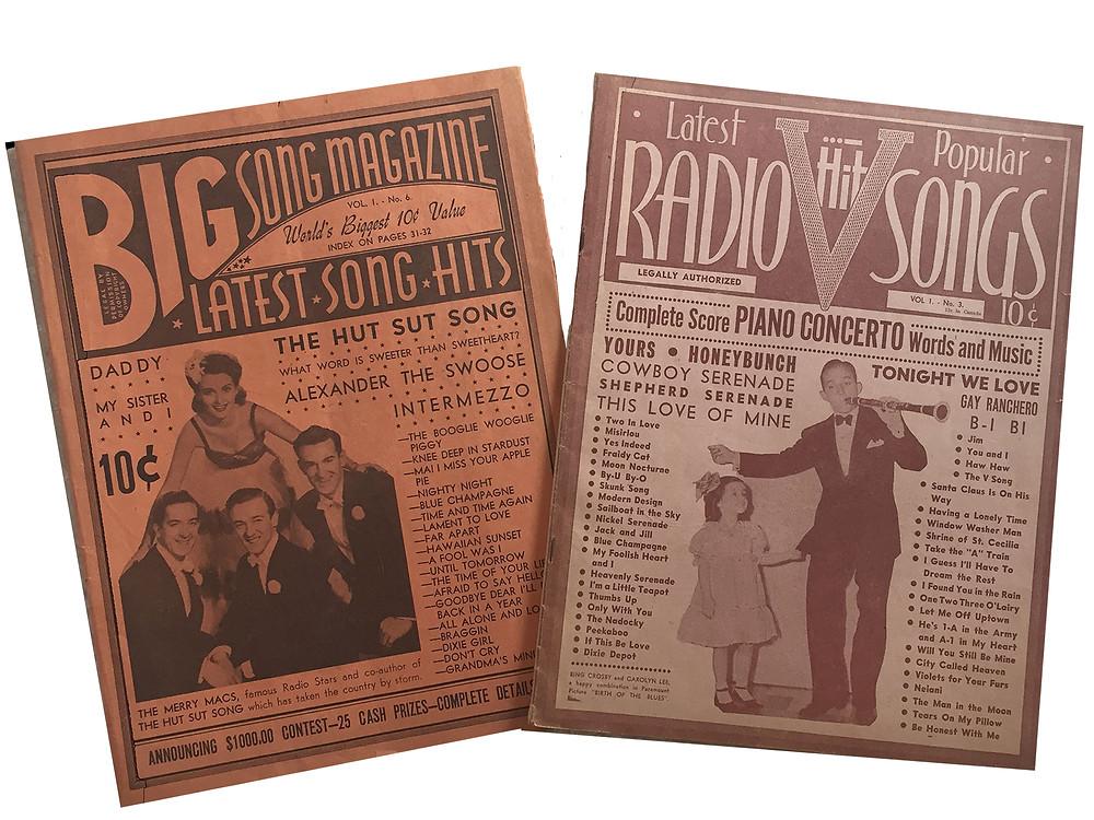 Big Song Magazine and Radio Hit Songs