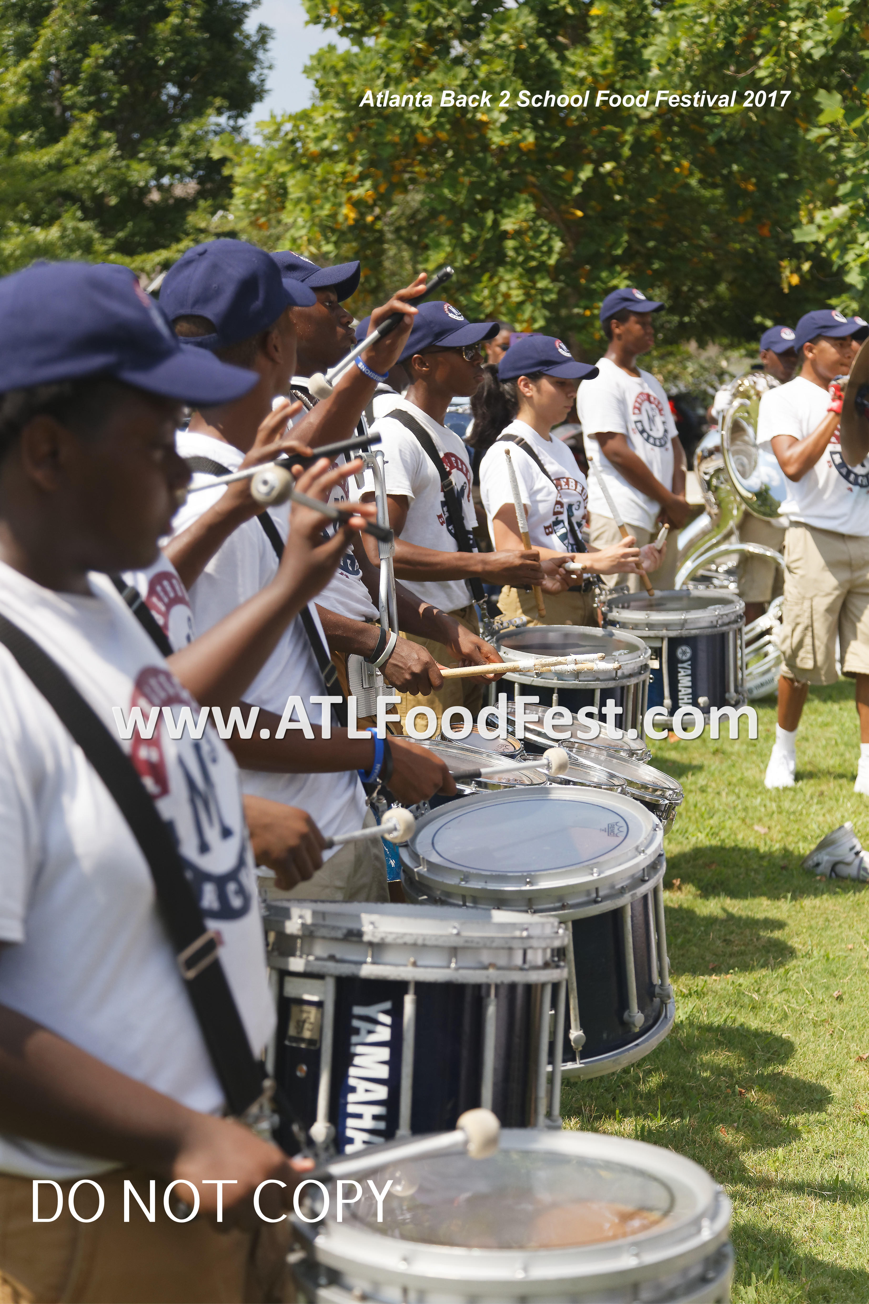 Atlanta Food Festival Drumline