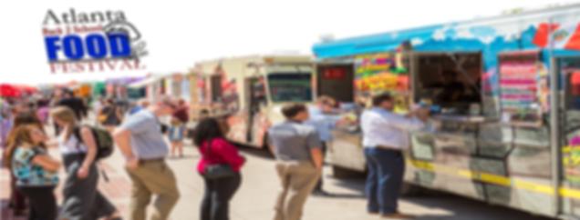 Atlanta Food Festival Featuring Caterers, Food Trucks, Restaurants, and Vendors