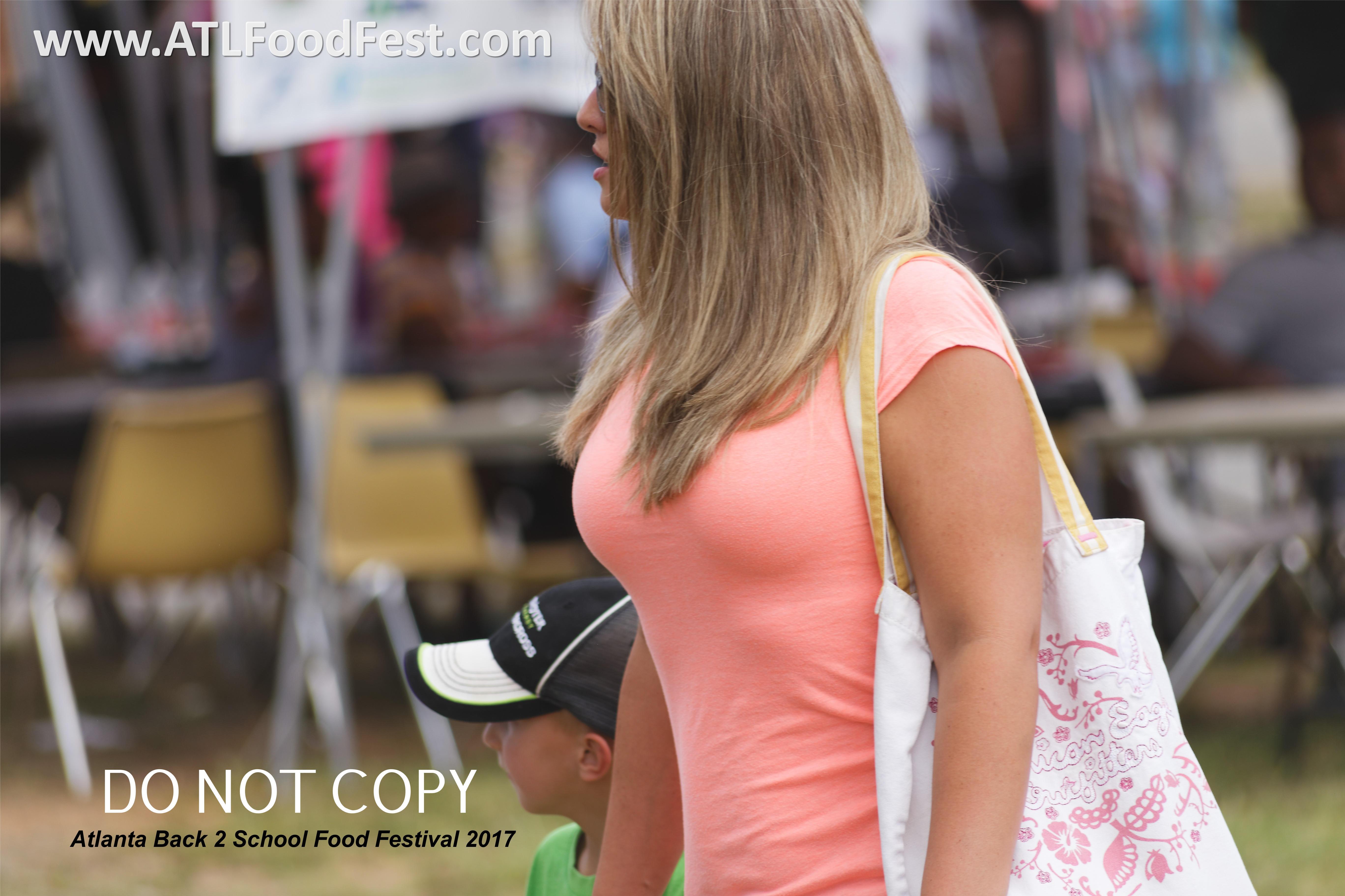 Atlanta Food Festival Crowd