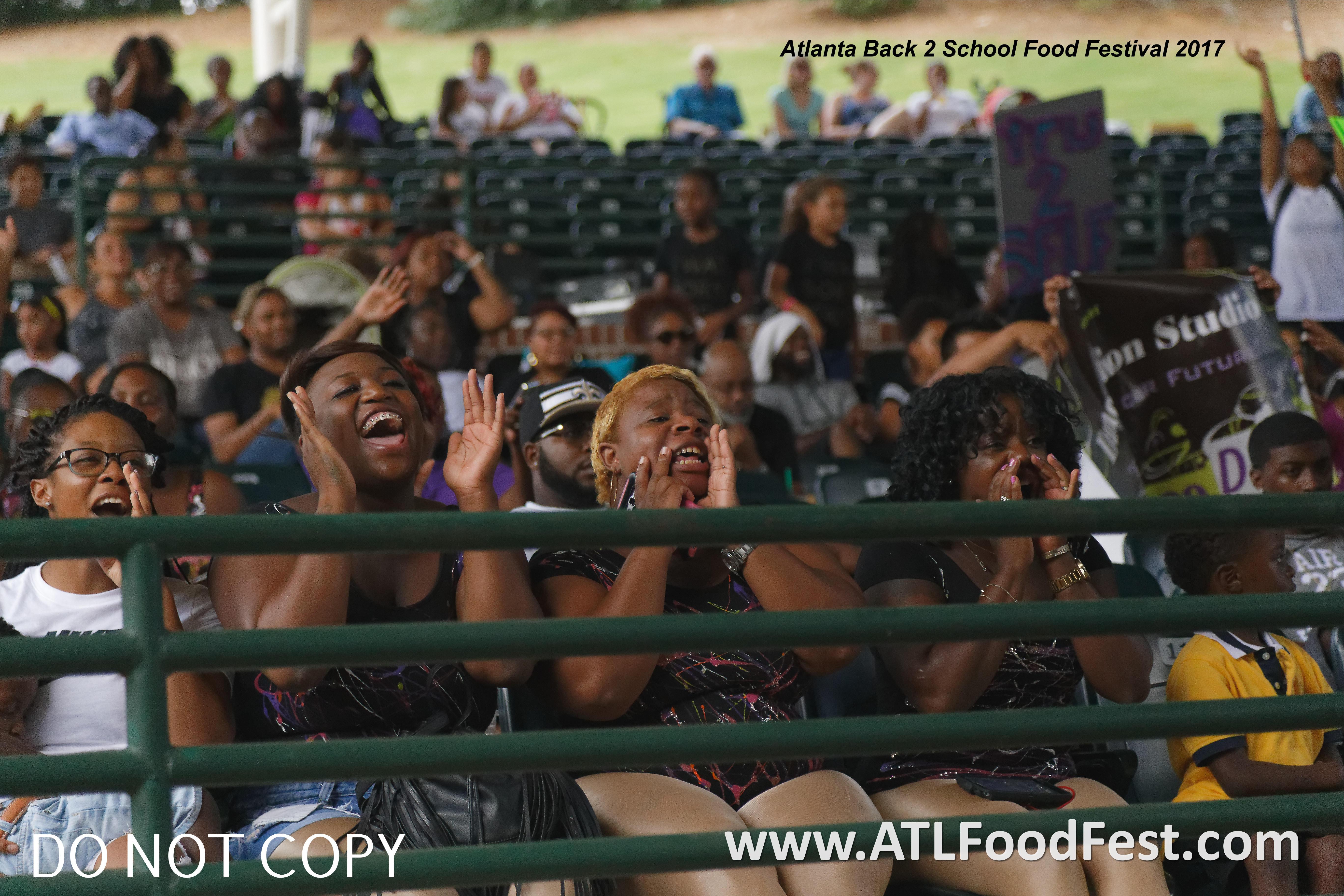 Atlanta Dance Competiton Crowd
