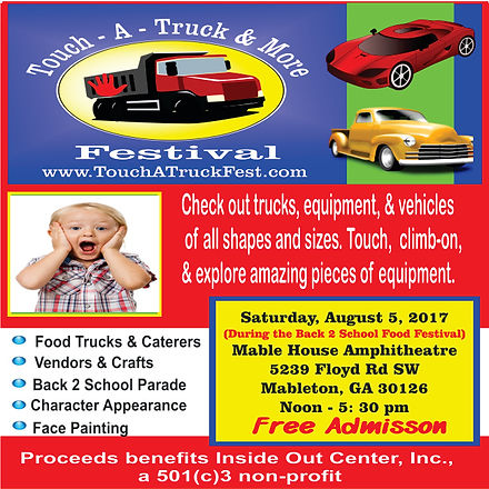 Atlanta Touch A Truck & More Food Festival