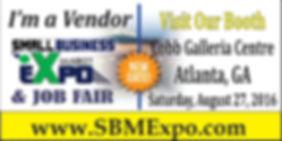 Small Business Expo & Job Fair Atlanta Georgia Vendor and Exhibitor Booth Application