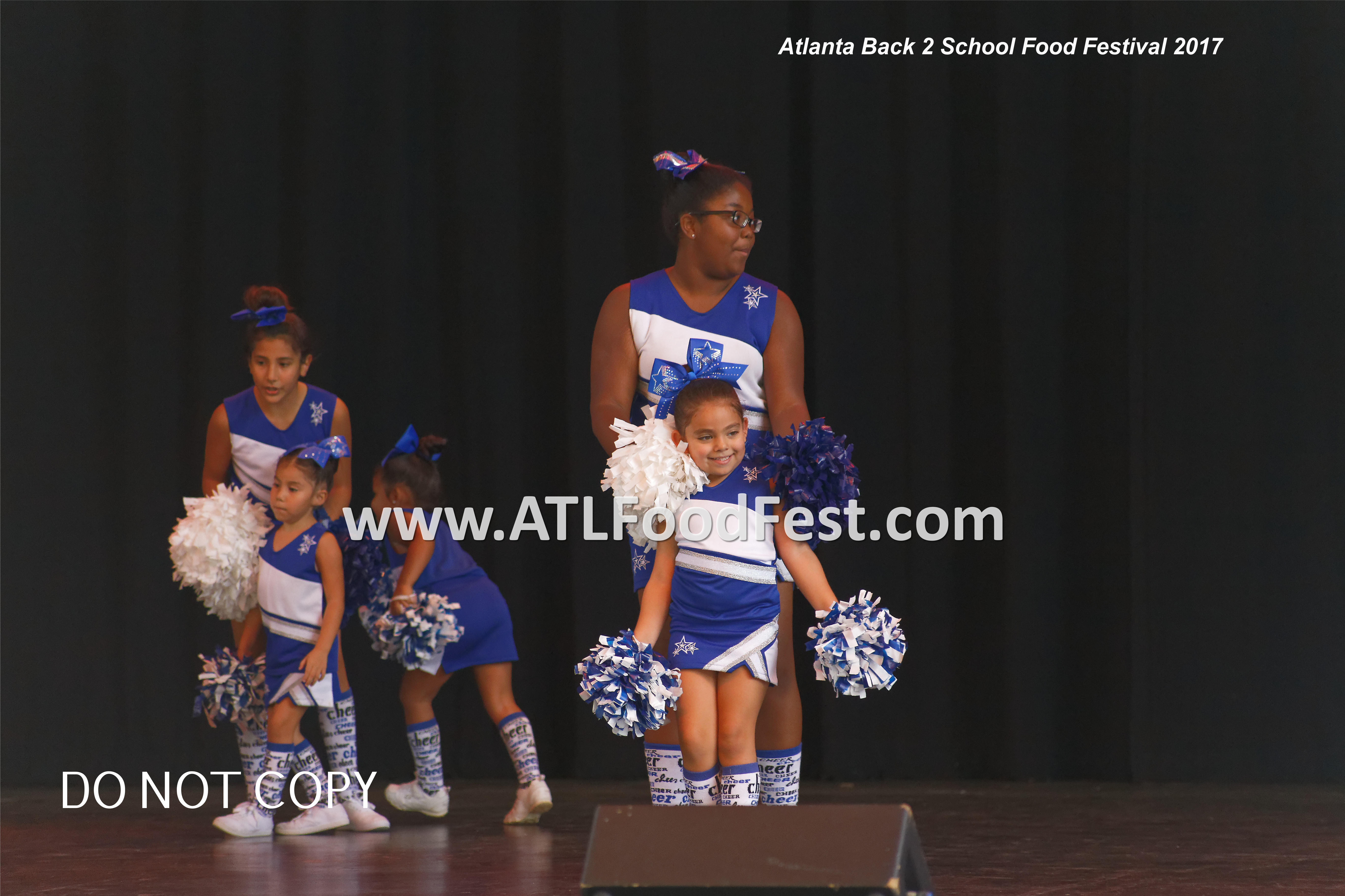 Atlanta Food Festival Cheerleaders