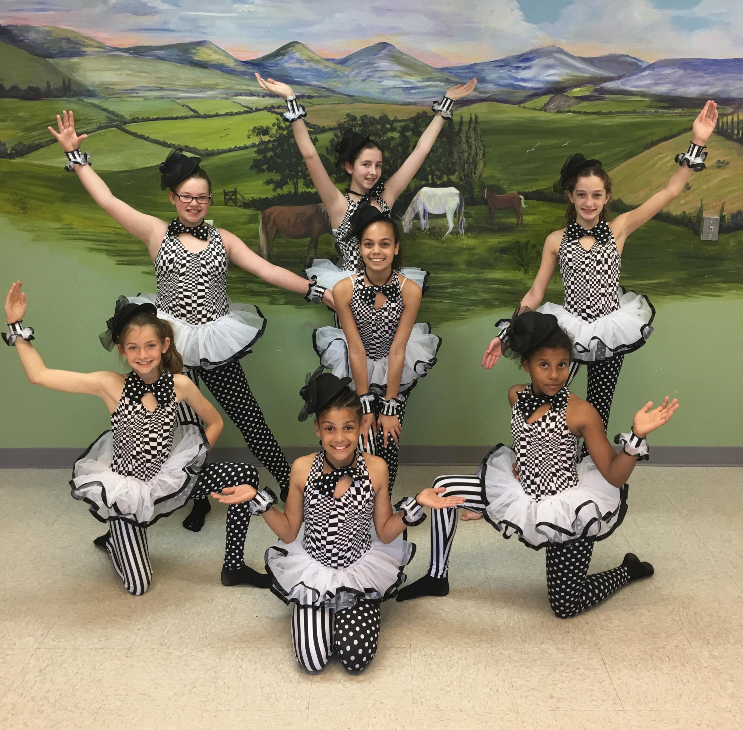 Junior & Mini Elites Dance Team