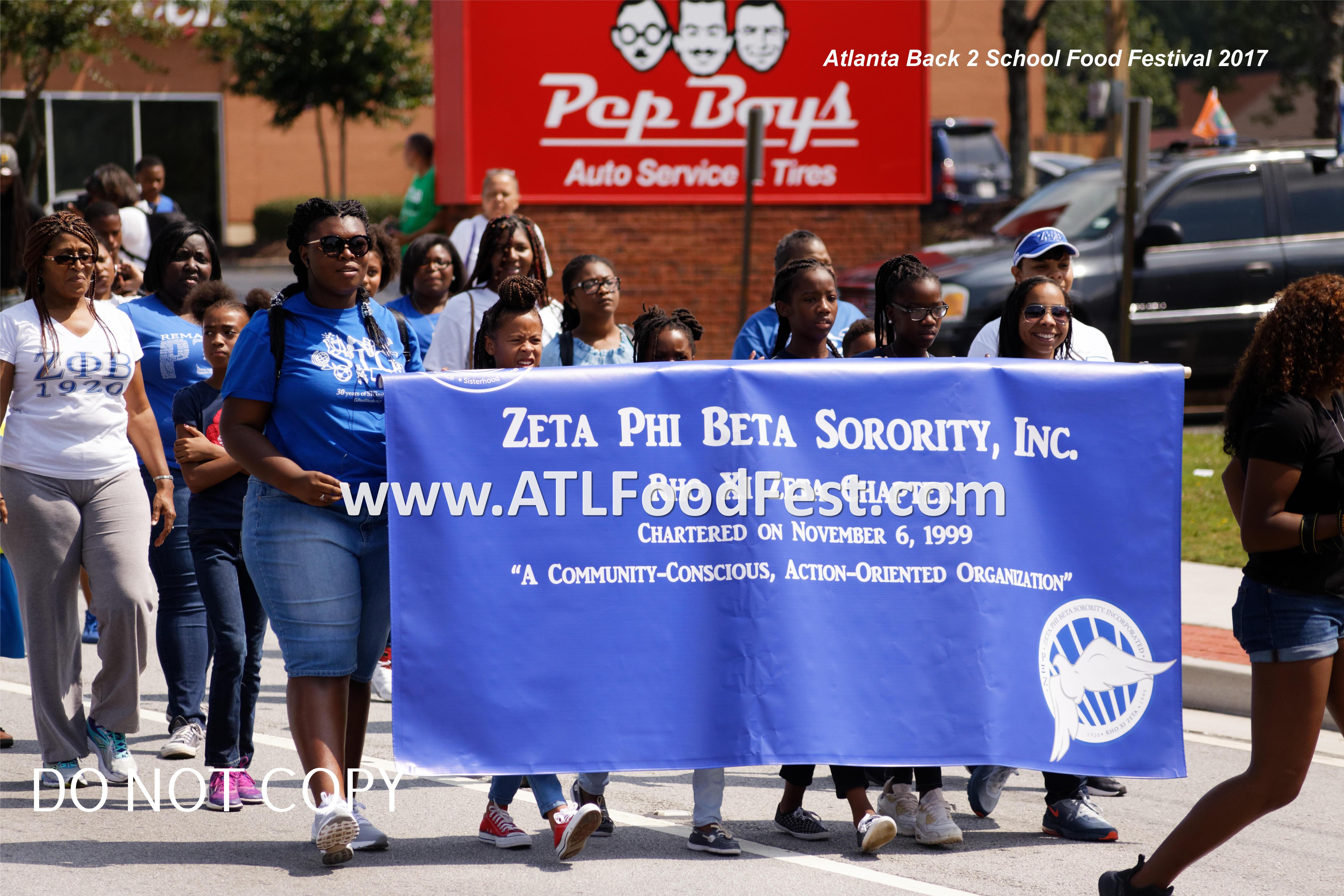 Cobb Parade Zeta Phi Beta