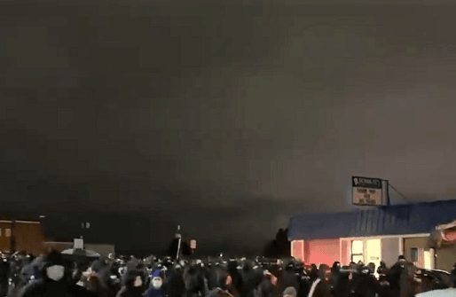 BIDEN'S AMERICA: Anti-Cop Antifa Protest Turns Violent in Tacoma, Washington SUNDAY NIGHT