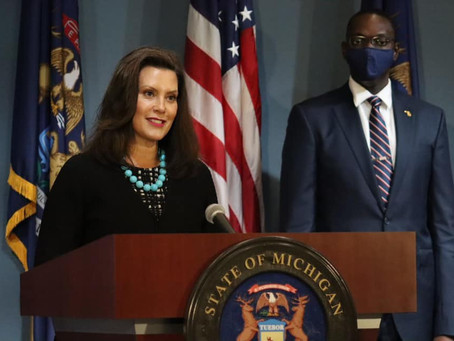 A Michigan court ruled that several recall efforts against Gov. Gretchen Whitmer can proceed