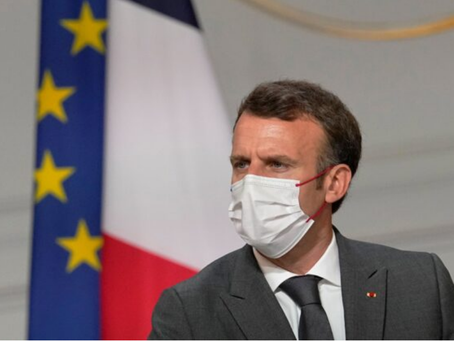 France's Macron Orders All Health Workers to Get Vaccinated