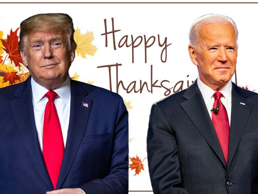 Biden and Trump are planning quiet Thanksgiving celebrations at home as the pandemic breaks out