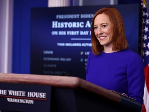 White House press secretary Jen Psaki: 'We Want to Bring Transparency Back'