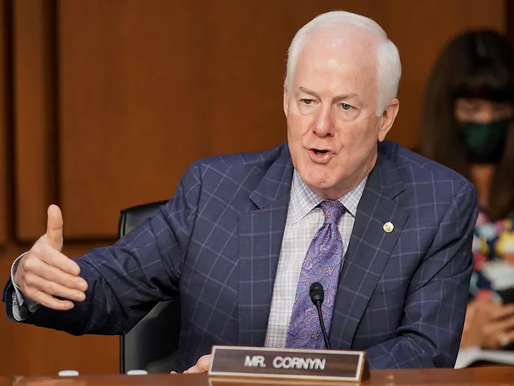 Senator Cornyn wonders whether the humble Biden is really 'in charge'