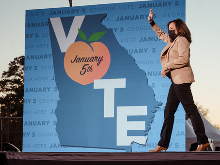 Kamala Harris announced a $25 million expansion of the voting campaign