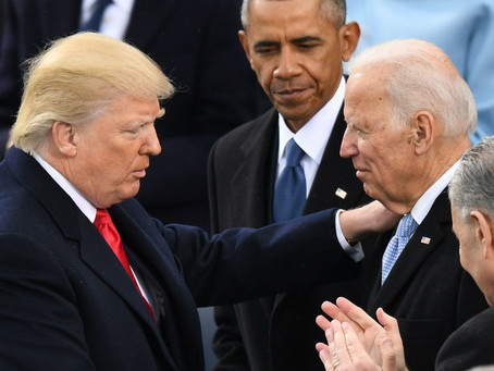 Joe Biden will wait for a recommendation on sharing secrets with President Trump