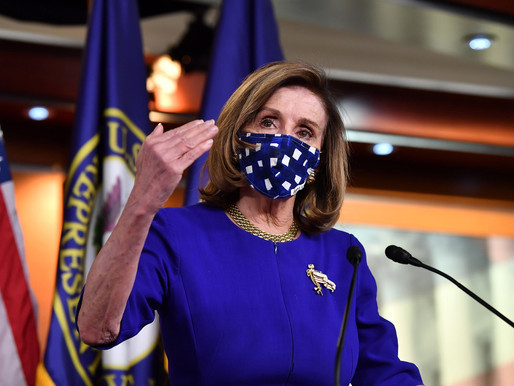 Pelosi says Ready to Deal on Smaller Coronavirus Relief Package 'Because We Have a New President'