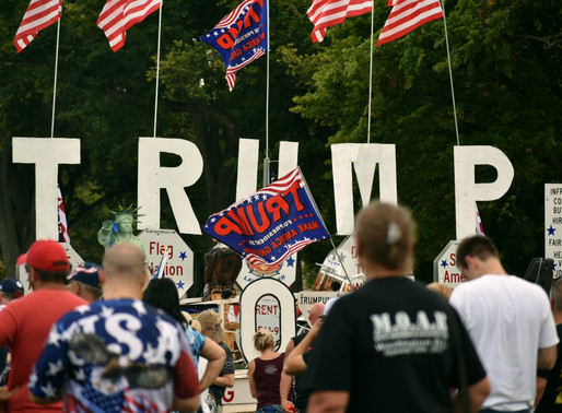 Trump supporters shocked at diagnosis and show more support
