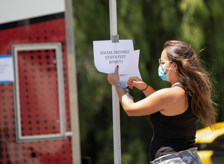 Lights, camera, not much action: Hollywood slow to restart in a pandemic