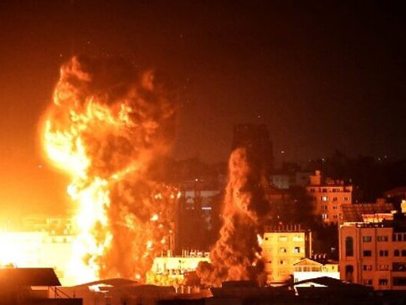 The Israeli military Says Over 9 Miles of Gaza 'Terror Tunnel' Destroyed in Airstrikes
