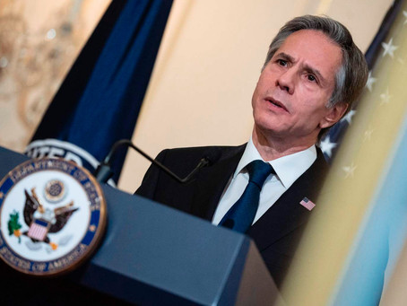 Blinken: China Acting 'More Aggressively Abroad'