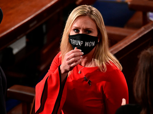 Twitter blocked the account of Republican congresswoman Marjorie Taylor Greene