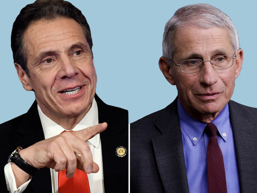 NY Governor Cuomo and Dr. Fauci Warn of 'Dark Time' in January 2021