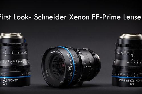 Schneider Xenon FF Prime Lens T2.1/100mm
