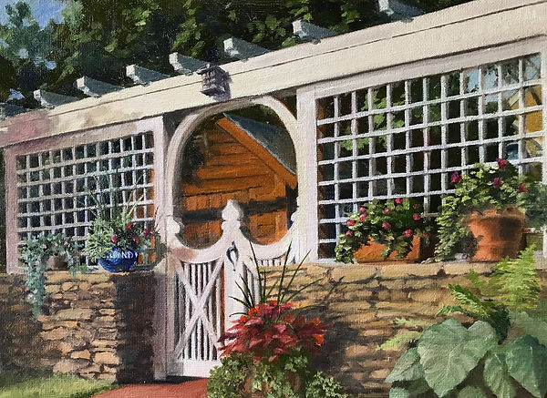 """Gallina's Gate"" OIL (9 x 12) - Private Collection"