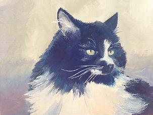 """""""Darcy's Ella"""" 9 x 12 Oil (private collection)"""