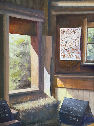 """Massachusetts Barn"" OIL (9 x 12)"