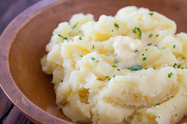 potatoe mash
