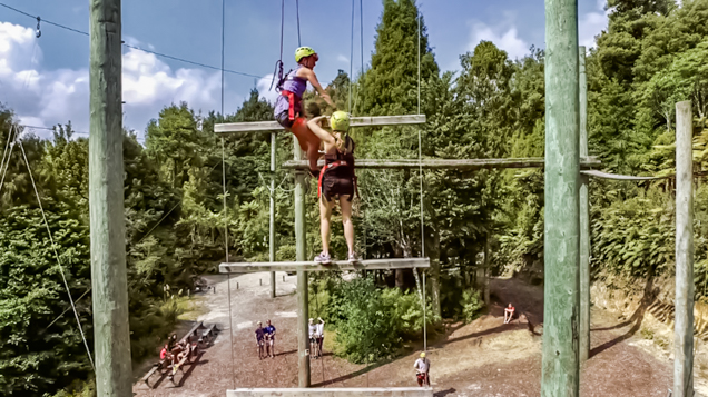 Tui Ridge Park High Ropes