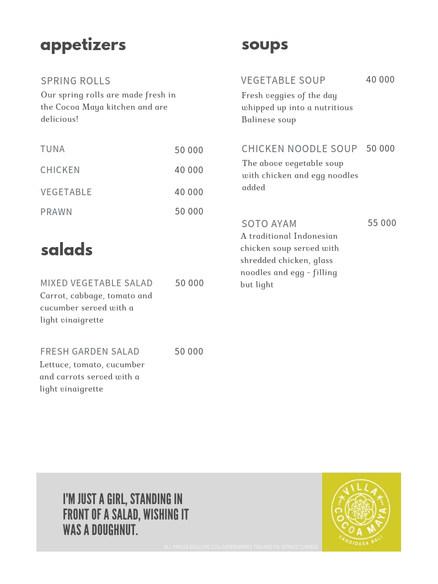 Villa Cocoa Maya menu appetizers.jpg