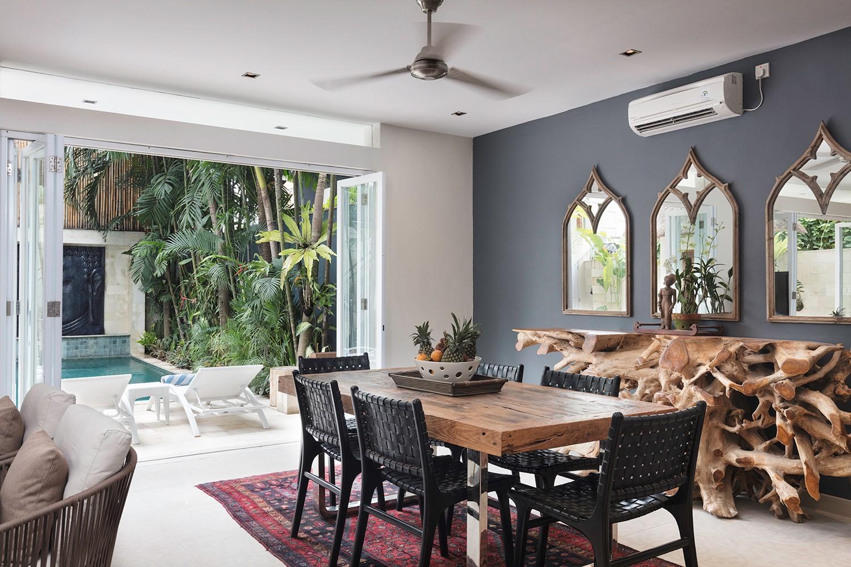 Living area Villa Bebek