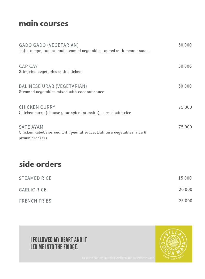 Villa Cocoa Maya menu mains2.jpg
