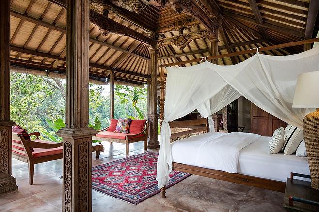 Copy of Villa Sagitta, Ubud, Bali, magnificent Joglo Suite in a separate pavilion with kin