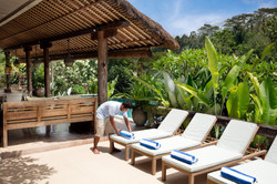 Villa Sagitta, Ubud, Bali, The perfect way to spend a day - swimming and lying in the sun