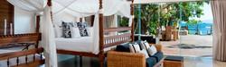 Bedroom near pool Villa Cocoa Maya
